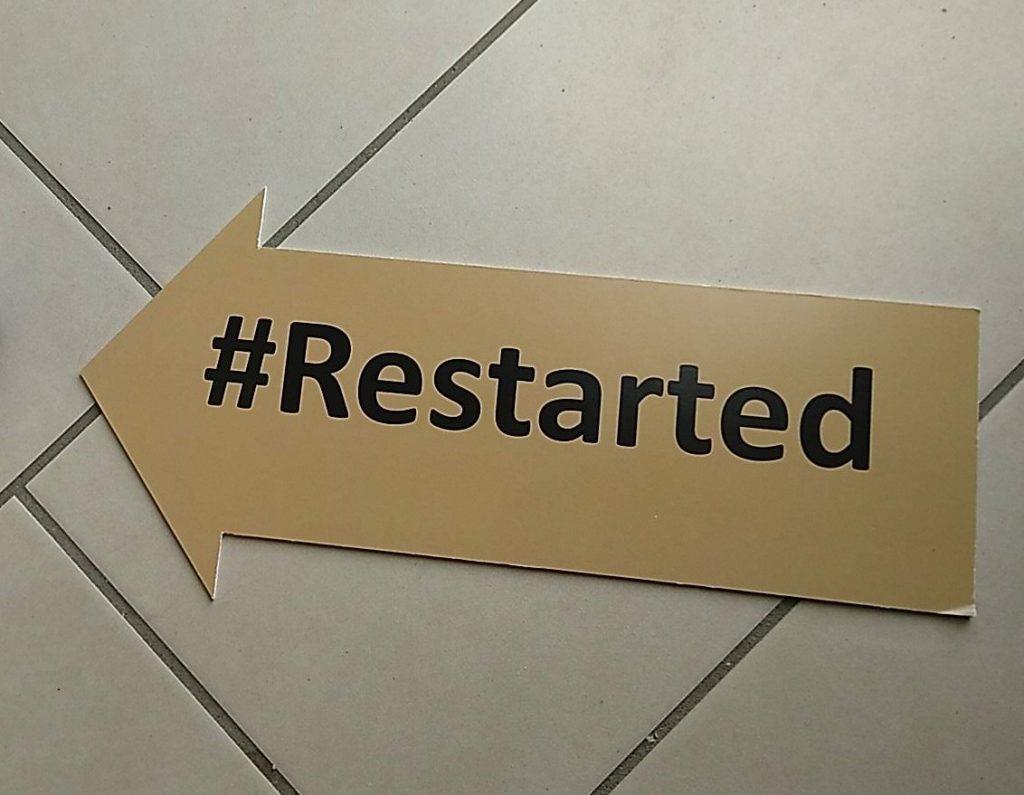 #restarted